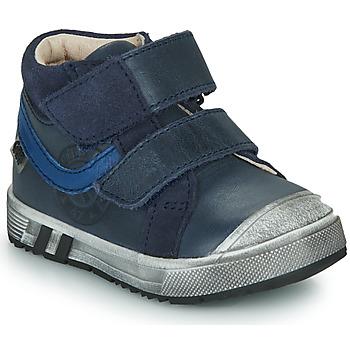 Čevlji  Dečki Visoke superge GBB OMALLO Modra