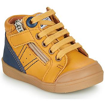 Čevlji  Dečki Visoke superge GBB ANATOLE Rumena
