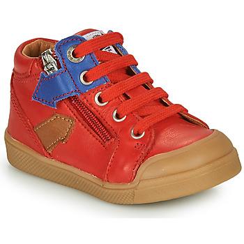 Čevlji  Dečki Visoke superge GBB IONNIS Rdeča