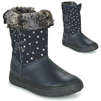 Čevlji  Deklice Mestni škornji    GBB OLINETTE Modra