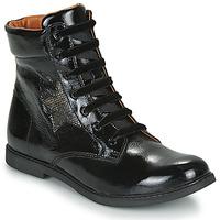 Čevlji  Deklice Polškornji GBB JAMILA Črna