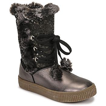 Čevlji  Deklice Mestni škornji    GBB NOUSTIK Črna