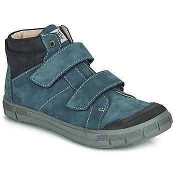 Čevlji  Dečki Visoke superge GBB HENI Modra
