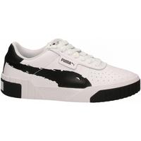 Čevlji  Ženske Fitnes / Trening Puma CALI BRUSHED WN'S black--white