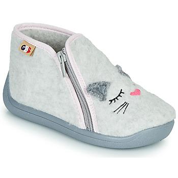 Čevlji  Deklice Nogavice GBB CORI Siva