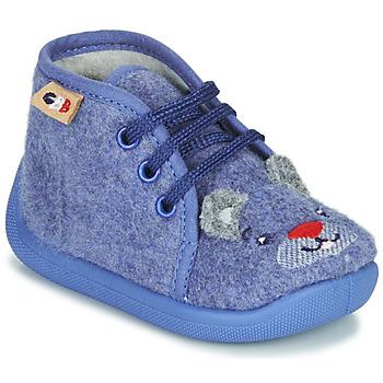 Čevlji  Dečki Nogavice GBB KYLAE Modra
