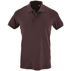 Oblačila Moški Polo majice kratki rokavi Sols PHOENIX MEN SPORT Violeta