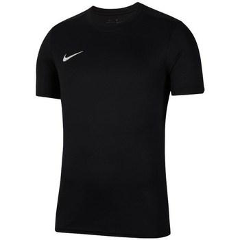 Oblačila Dečki Majice s kratkimi rokavi Nike JR Dry Park Vii Črna