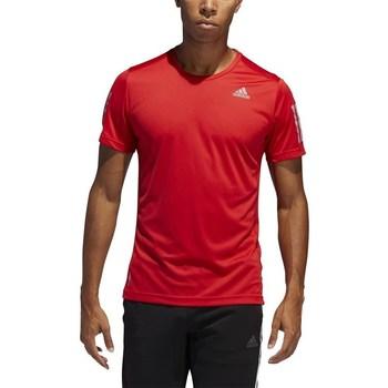 Oblačila Moški Majice s kratkimi rokavi adidas Originals Own The Run Tee Rdeča