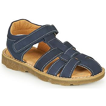 Čevlji  Dečki Sandali & Odprti čevlji André TURTLE Modra
