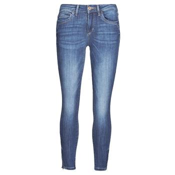 Oblačila Ženske Kavbojke slim Only ONLKENDELL Modra