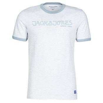 Oblačila Moški Majice s kratkimi rokavi Jack & Jones JORLEGEND Bela