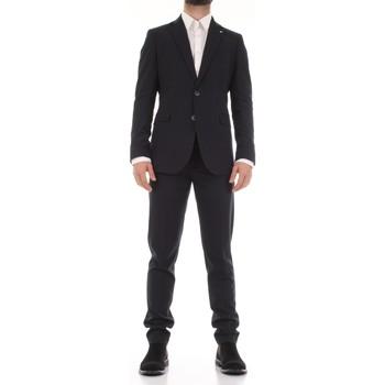 Oblačila Moški Obleka Mulish 50SPECIAL-AB7200 Blu