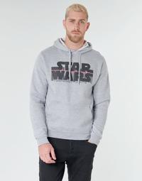Oblačila Moški Puloverji Casual Attitude Star Wars Bar Code Siva