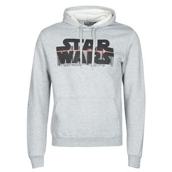 Oblačila Moški Puloverji Yurban Star Wars Bar Code Siva
