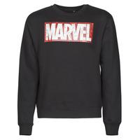 Oblačila Moški Puloverji Casual Attitude MARVEL MAGAZINE CREW Črna