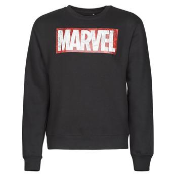 Oblačila Moški Puloverji Yurban MARVEL MAGAZINE CREW Črna