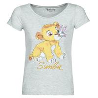 Oblačila Ženske Majice s kratkimi rokavi Moony Mood THE LION KING Siva