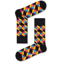 Tekstilni dodatki Moški Nogavice Happy Socks Optiq square sock Večbarvna
