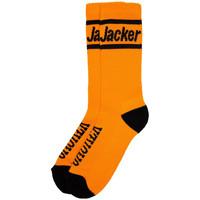 Tekstilni dodatki Moški Nogavice Jacker After logo socks Oranžna