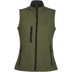 Oblačila Ženske Vetrovke Sols RALLYE SPORT WOMEN Verde