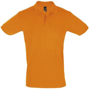 Oblačila Moški Polo majice kratki rokavi Sols PERFECT COLORS MEN Naranja