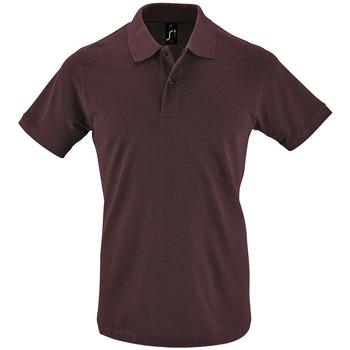 Oblačila Moški Polo majice kratki rokavi Sols PERFECT COLORS MEN Violeta