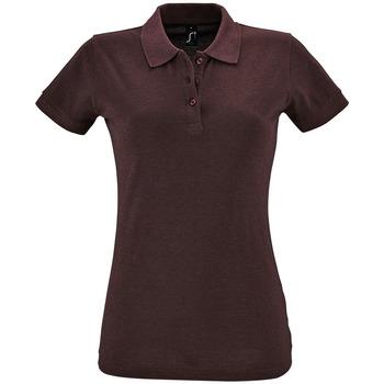 Oblačila Ženske Polo majice kratki rokavi Sols PERFECT COLORS WOMEN Violeta