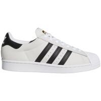 Čevlji  Moški Skate čevlji adidas Originals Superstar adv Bela