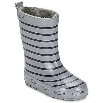 Čevlji  Otroci škornji za dež  Be Only TIMOUSS Siva