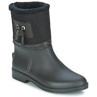 Čevlji  Ženske škornji za dež  Be Only DIVINE Črna