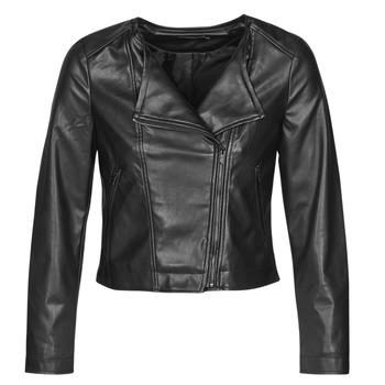 Oblačila Ženske Usnjene jakne & Sintetične jakne Only ONLDALY Črna