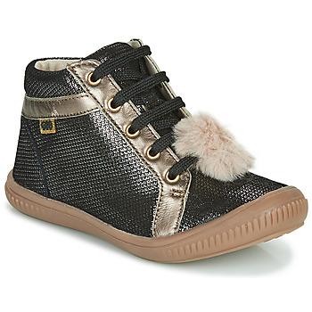 Čevlji  Deklice Visoke superge GBB ISAURE Črna