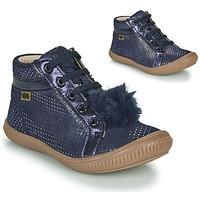 Čevlji  Deklice Visoke superge GBB ISAURE Modra