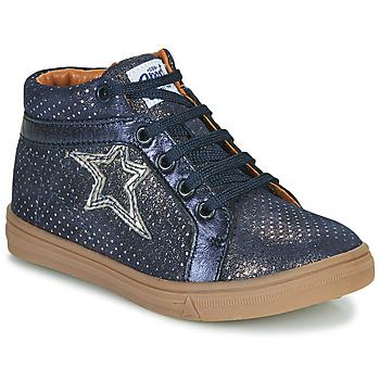 Čevlji  Deklice Visoke superge GBB NAVETTE Modra