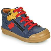 Čevlji  Dečki Visoke superge GBB IONNIS Modra