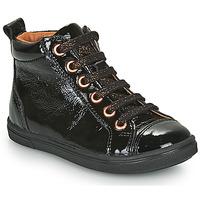 Čevlji  Deklice Visoke superge GBB INNA Črna