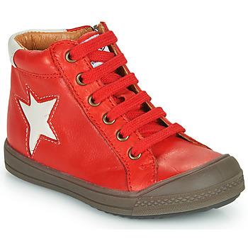 Čevlji  Dečki Visoke superge GBB KASSIO Rdeča