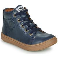 Čevlji  Dečki Visoke superge GBB KELIG Modra