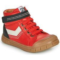 Čevlji  Dečki Visoke superge GBB BAO Rdeča