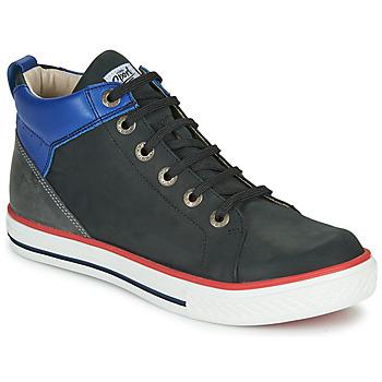 Čevlji  Dečki Visoke superge GBB MERINO Črna