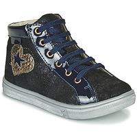 Čevlji  Deklice Visoke superge GBB MARTA Modra