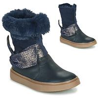 Čevlji  Deklice Mestni škornji    GBB EVELINA Modra