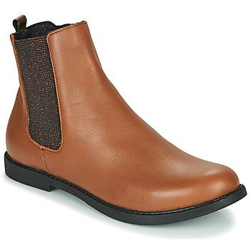 Čevlji  Deklice Polškornji GBB ARANA Cognac
