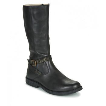 Čevlji  Deklice Mestni škornji    GBB OKINDI Črna