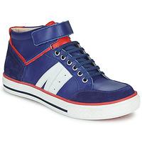 Čevlji  Dečki Visoke superge GBB ALIMO Modra