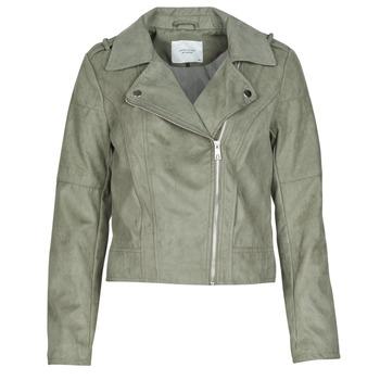 Oblačila Ženske Usnjene jakne & Sintetične jakne JDY JDYPEACH Siva