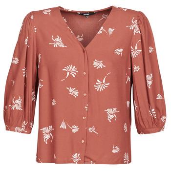 Oblačila Ženske Srajce & Bluze Vero Moda VMJILLEY Bordo