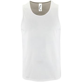 Oblačila Moški Majice brez rokavov Sols SPORT TT MEN Blanco