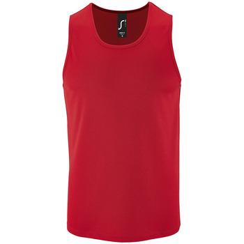 Oblačila Moški Majice brez rokavov Sols SPORT TT MEN Rojo